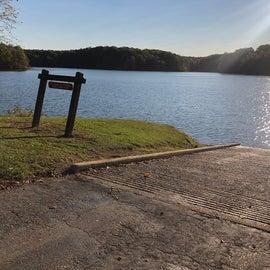 Lake Dunn boat ramp
