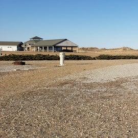 Hampton Beach SP Campground Site 17, pull through
