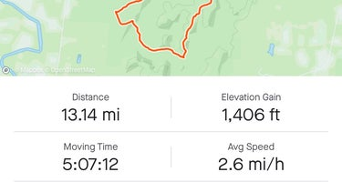 Birkhead Mountain Wilderness Area Dispersed