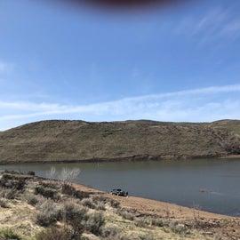 the reservoir area