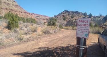 Kolob Road BLM Dispersed