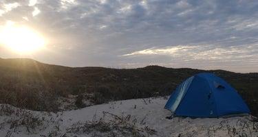 South Beach Campground - Padre Island National Seashore