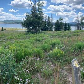 Panorama on a beautiful day.
