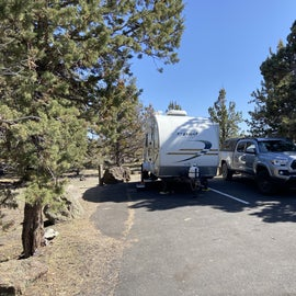 Campground at Lave Beds National Monument, B27&B28