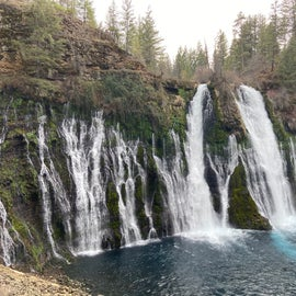 Burney Falls, April 2021