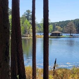 View of lake rentals