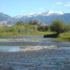Madison Mountain Range from just below Varney Bridge