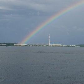 Rainbow after the rain!!!!!