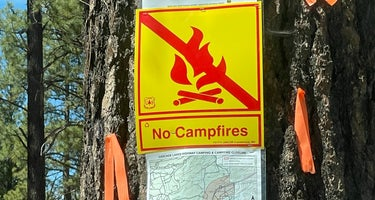 Deschutes Forest NFD 4600-120 Dispersed Camping