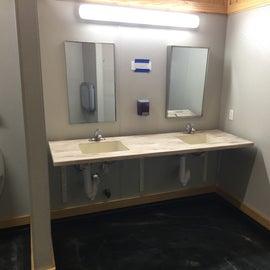 super clean bathrooms