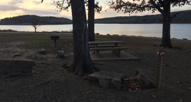 Lake wister State Park Quarry Island Campground