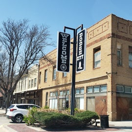 Downtown Dodge City.  Didn't take a photo at the casino.