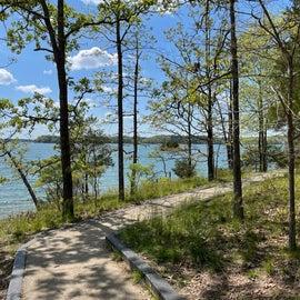 Calhoun Trail to the Fishing Pier