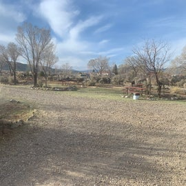 Rear half of Taos Valley RV Park
