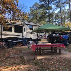Campground on spot 43