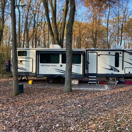 Our site at Delaware State Park
