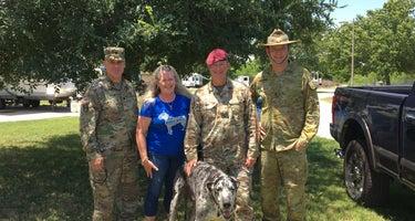 Fort Sam Houston Army RV
