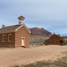 Grafton ghost town, Rockville side from the mesa, you can also get there the long way around from Apple Valley.