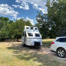 my Campsite - partial shade
