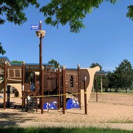 New playground equipment.