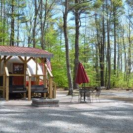 Rental yurt