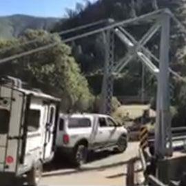 bridge on access road