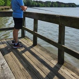 great fishing dock