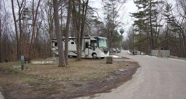 Hocking Hills Camping
