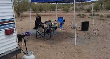 Great BLM Camping and Staging Area