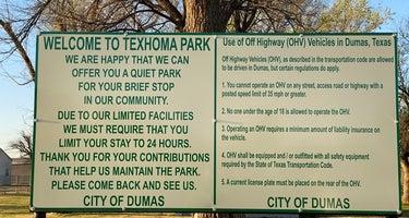 Texhoma Park Campground