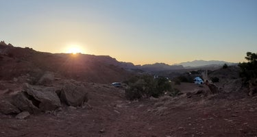 Route 24 dispersed Camp - Capitol Reef