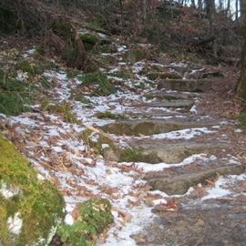 grandfather (profile trail) in the winter