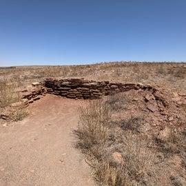 Village remains
