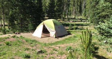 Routt National Forest Hahns Peak Lake Campground
