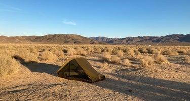 Joshua Tree Lake Dispersed Camping