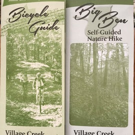 Pick up brochures, especially if you are hiking the trails!