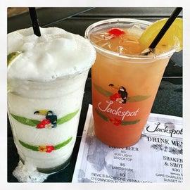 Jackspot Restaurant Boozy Drinks