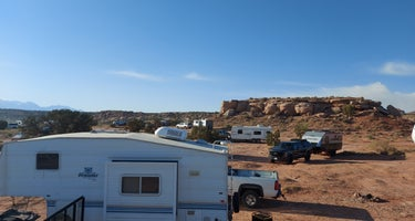 BLM dispersed camping outside of Moab