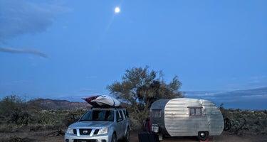 Peralta Road Dispersed Camping