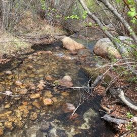 Creek at campaite