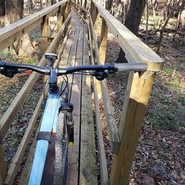 Badly Designed Bike Bridge
