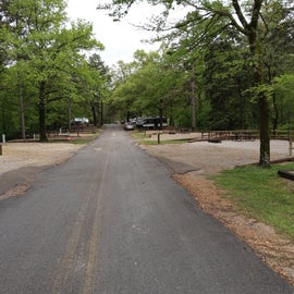 Entering the campground