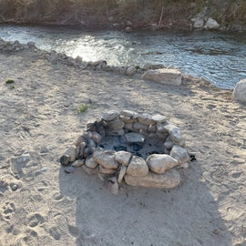 Have a bonfire by the river