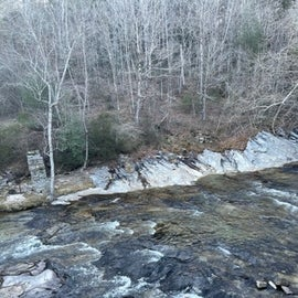below falls