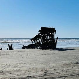 Shipwreck at Fort Stevens Park