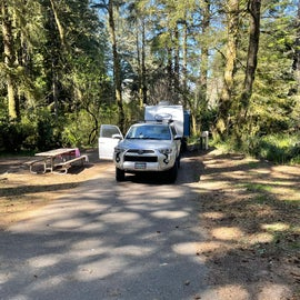 Spot G264. Loop G on Northend of the campground.