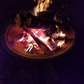 Just not camping without a campfire!!!!
