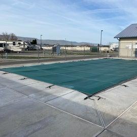pool open seasonally