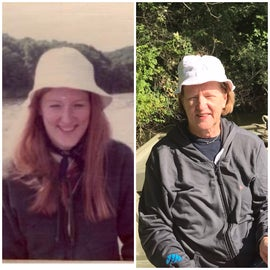 Same here. Left picture Me in 1974 fishing with my sweetie. The Right picture is 2020. Still fishing with the love of my life ❤️