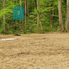 Site 2 Glade Creek walk-in